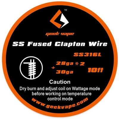 DIY roll wire KA1 SS316 Clapton Caterpillar Track Juggernaut Stagger Ribbon