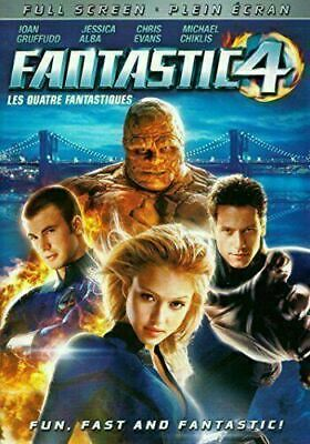 Fantastic Four (Full Screen) (Bilingual) [DVD] New & Factory Sealed!!
