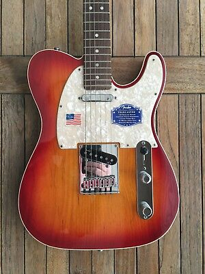 Fender Telecaster American Deluxe Aged Cherry Burst - NEAR MINT CONDITION