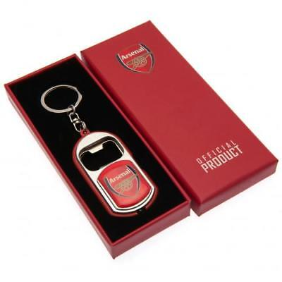 Arsenal Fc Bottle Opener Keyring With Torch Key Ring Keychain Bday Xmas Gift