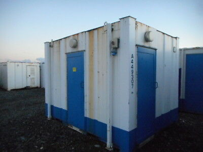 12'x9' anti vandal 2 + 1 toilet portable building site welfare camp £1850 + VAT