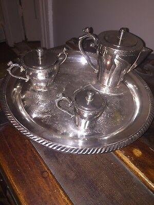 VINTAGE SILVER PLATED VARIETY LOT F B RODGERS. SILVER COMPANY 11 Pieces, INCLUD