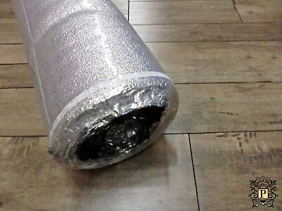 Underlayment 3 In 1 Aluminum / White Foam Laminate Combo Foam 3Mm / 200 Sqft