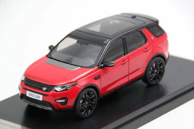 Premium X 1:43 Range Rover Discovery Sport 2015 Red Diecast Models PRD402 Toys