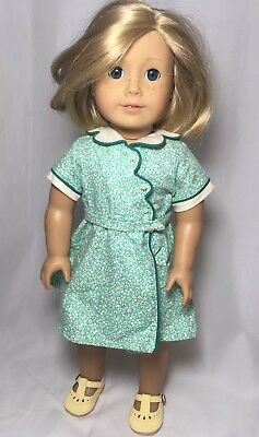 American Girl Kit Doll AND Birthday Dress Shoes Outfit