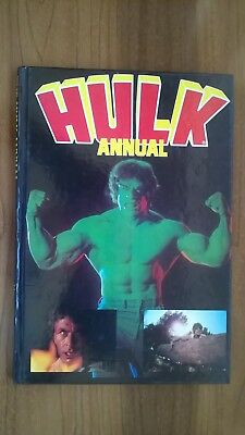 Vintage Hulk Annual . Copyright Marvel 1980!   Excellent Condition!