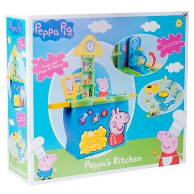 Peppa Pig Peppas Kitchen Playset Ages 3 Brand New 109 12