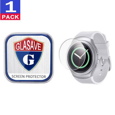 GLASAVE Samsung Gear S2 R730 Tempered Glass Screen Protector Film Saver