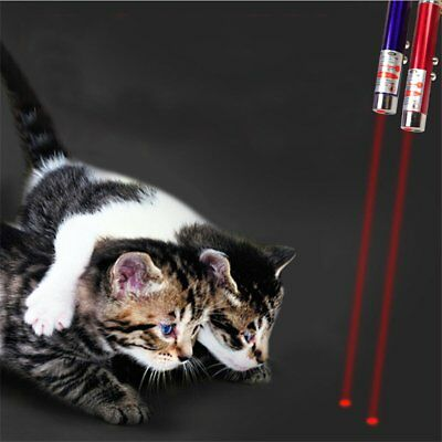 LED Laser Pen Pointer Cat Toy Play Red