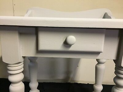 Small Grey Painted Washstand W-61d-36h-71 £40