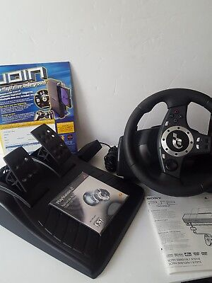 81963110f04 LOGITECH DRIVING FORCE Pro for PlayStation 2 Steering Wheel & Pedals ...