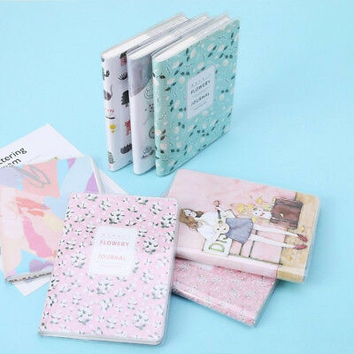 Cute Notebook Daily Weekly Monthly Agenda Calendar Students 40 Sheets 15*10.5cm