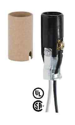 """2"""" Tall Candelabra Phenolic Socket ~ with 10"""" Long Wire Leads ~ by PLD"""