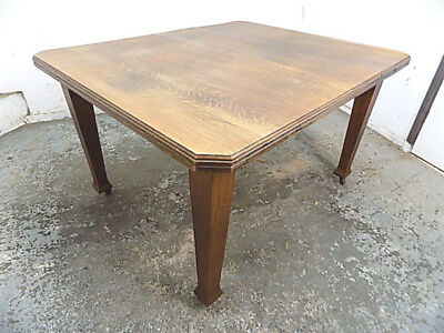 antique,victorian,walnut,dining table,table,square legs,castors,kitchen,dining