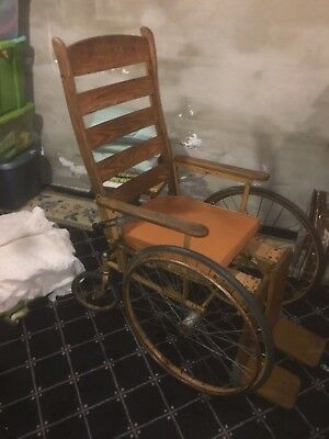 Vintage Wheelchair