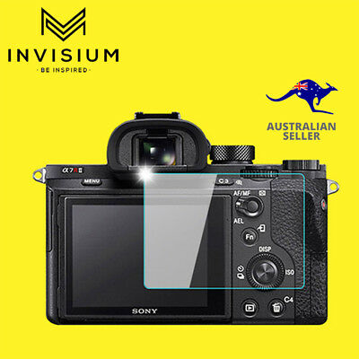 INVISIUM Tempered Glass Screen Protector Sony A7II A7III A7RII A7RIII Camera