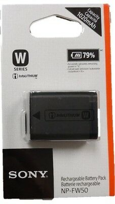 Sony InfoLithium (NP-FW50) Li-Ion Camera Rechargeable Battery Pack Black SOB1