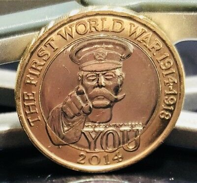 2014 £2 COIN WORLD WAR I CENTENARY TWO POUNDS Excellent Condition