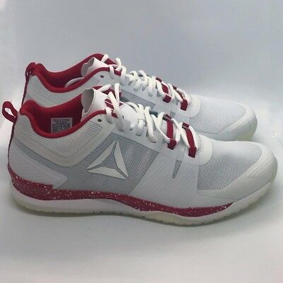 REEBOK JJ1 JJ Watt White Red Mens Size 12.5 Brand New Mens -  74.95 ... 1186888ea