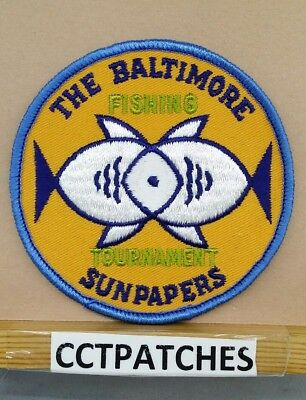 The Baltimore Fishing Tournament Sunpapers Patch