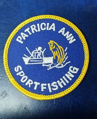 Patricia Ann Sport Fishing Charter Patch