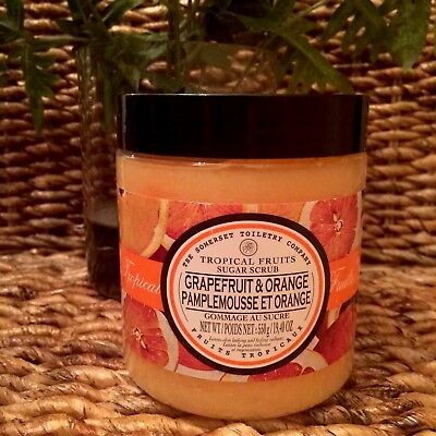 The Somerset Toiletry Company Grapefruit and Orange Sugar Scrub 19.4 OZ