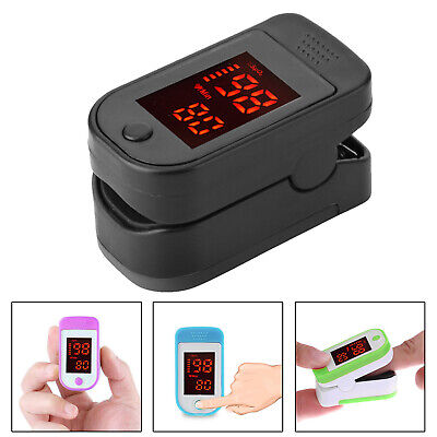 Digital Finger Pulse Oxygen Saturation Monitor Oximeter Blood Pressure Meter