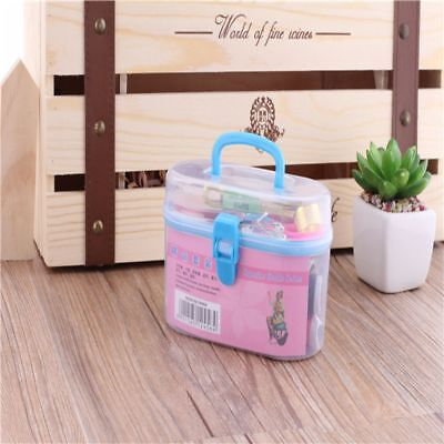 Fashion Sewing Needles Plastic Household Sewing Box Set Sewing Useful Home Tools