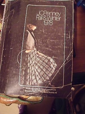 Vtg 1978 JCPenney Penneys JC Penney Fall & Winter Department Store Catalog Book