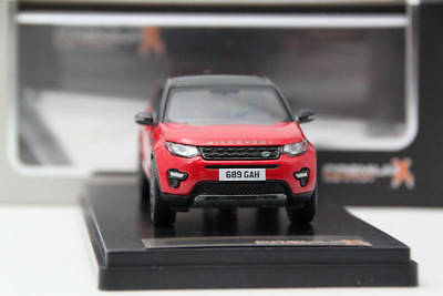 Premium-X Models PRD402 1:43 LAND ROVER DISCOVERY SPORT 4X4 2015 RED//BLACK ROOF