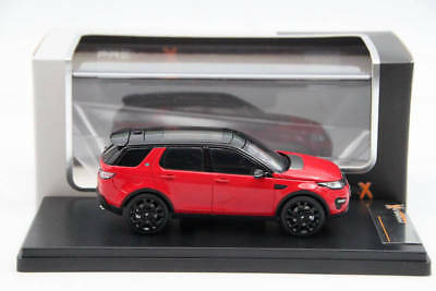 Premium X 1:43 Range Rover Discovery Sport 2015 Red PRD402 Resin Models Toys Car