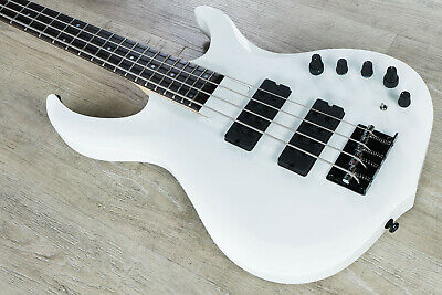 Sire Marcus Miller M2 2nd Gen 4-String Bass Guitar WHP White. w/ Gig Bag