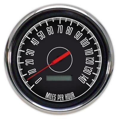"New Vintage USA 67150-01 1967 Series 4 3/8"" Speedometer Black"