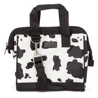 NEW Sachi Insulated Lunch Bag Small Cow Print