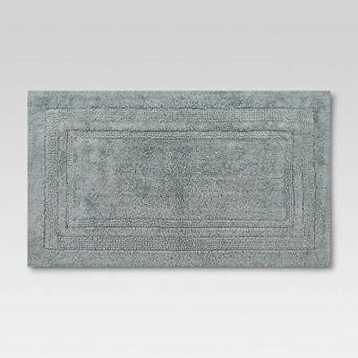 1073d3195467 Classic Gray 100% Cotton Tufted Performance Bath Rug - 34