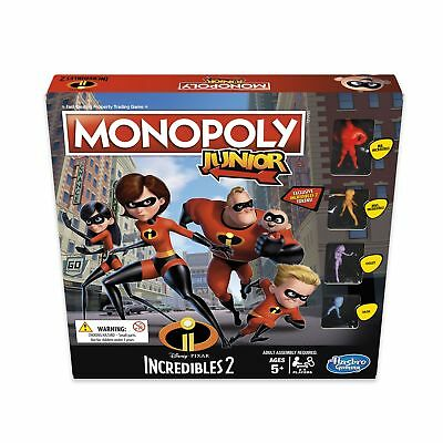 Hasbro Kids 'Monopoly Junior - Disney Pixar Incredibles 2' Property Trading Game
