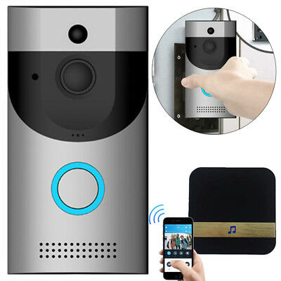 US Smart Wireless WiFi DoorBell Video Camera Phone Visual Intercom Home Security