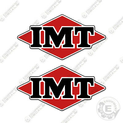 IMT Crane Decals Logo Decals (Set of 2) Any Size