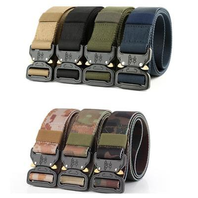 Tactical Military Hunting Airsoft Combat Waist Padded Combat Web Belt Best %