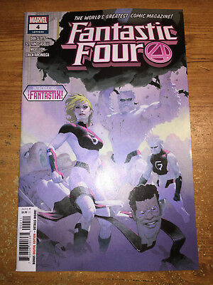 Fantastic Four #4 - Regular Cover - 1St Print - Marvel (2019)