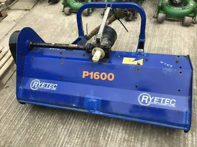 Rytec P1600 tractor mounted flail mower