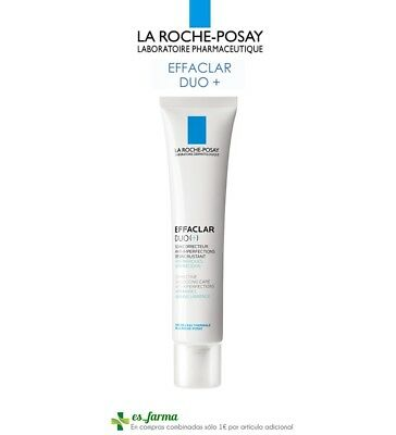 La Roche Posay Effaclar Crema Duo [+] 40Ml Imperfecciones Acne Oily Skin