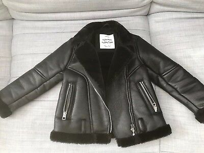 ad531b15a Zara Kids Girls Black Faux Suede Jacket Size 5 Years,worn Just Couple Of  Times