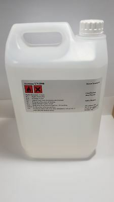 5L Container Pure Acetone - Acrylic Nail Remover Nail Polish Remover 99.8%
