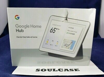 New Google Home Hub with Google Assistant Charcoal Smart Display