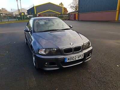 Bmw E46 M3 Coupe 97K History Mot All Spares Available Or Will Sell Complete