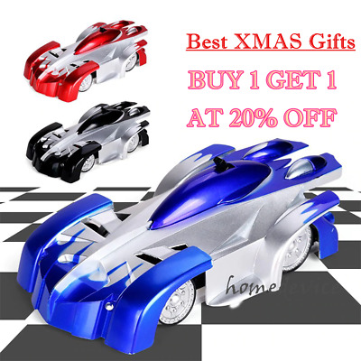 Wall Climbing Climber RC Racer Radio Remote Control Car Toy Best Xmas Gift Kids