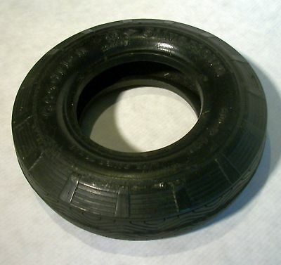Vintage Goodrich Safety Silvertown 600-16 Tire Ashtray without glass