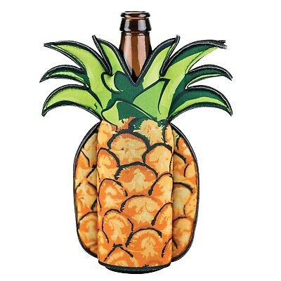 Animal Shaped Beer Bottle Coolies - Also Fit Wine Bottles - Pineapple