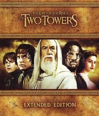 The Lord of the Rings: The Two Towers Extended  [Blu-ray+DVD] *used.